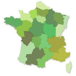 Matériaux par Région